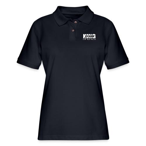 KING of Kings JESUS - Women's Pique Polo Shirt