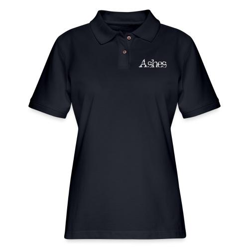 Ashes - Women's Pique Polo Shirt