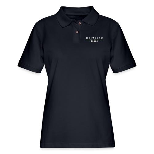 hlfsocialwht - Women's Pique Polo Shirt