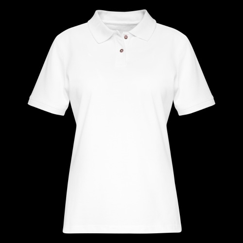 White Divine Frequency - Women's Pique Polo Shirt