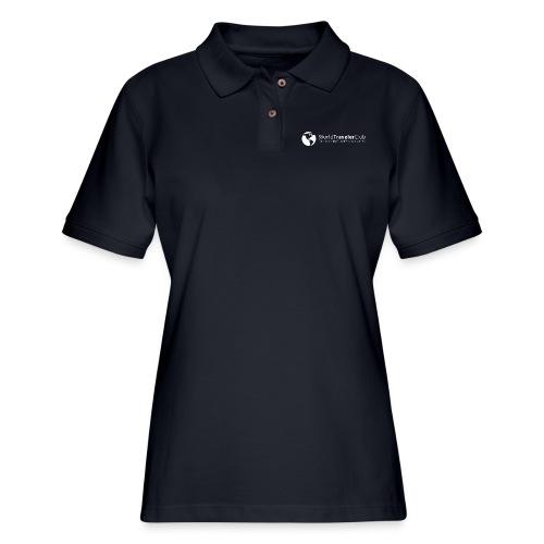 wtc logo - Women's Pique Polo Shirt