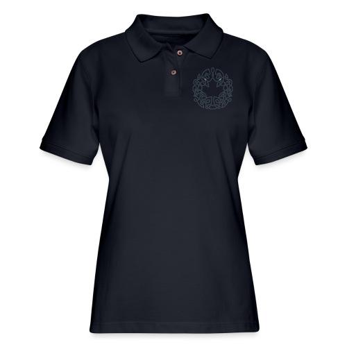 CDN_Scottish - Women's Pique Polo Shirt