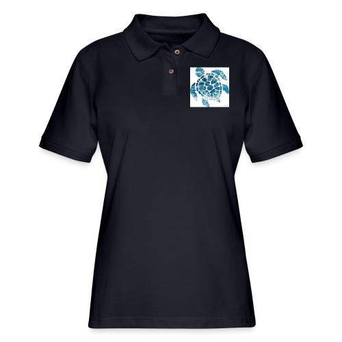 turtle - Women's Pique Polo Shirt