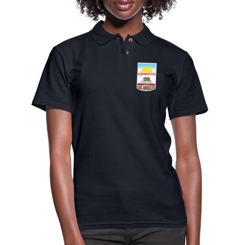Los Angeles - California Republic - Women's Pique Polo Shirt