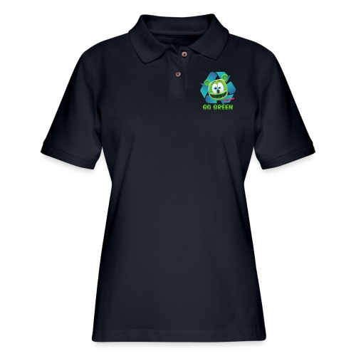 Gummibär Recycle - Women's Pique Polo Shirt