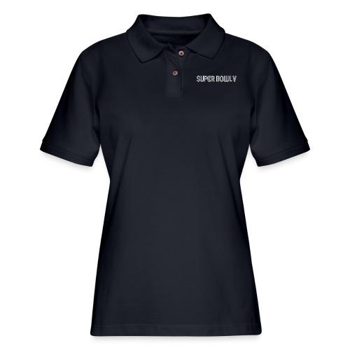 super bowl liv logo - Women's Pique Polo Shirt