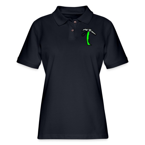 Ice Axe Vector - Women's Pique Polo Shirt