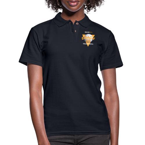 bulgebull volleyball - Women's Pique Polo Shirt