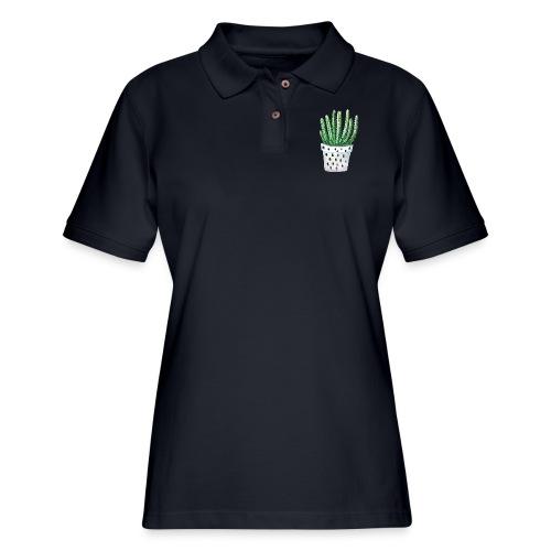 Cactus - Women's Pique Polo Shirt