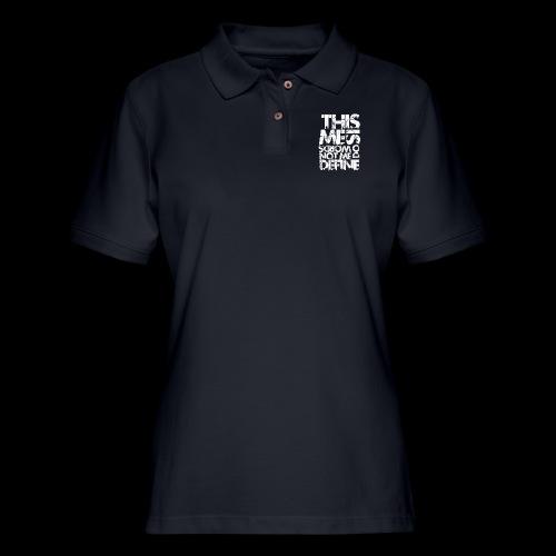 Words Do Not Define Me - Women's Pique Polo Shirt