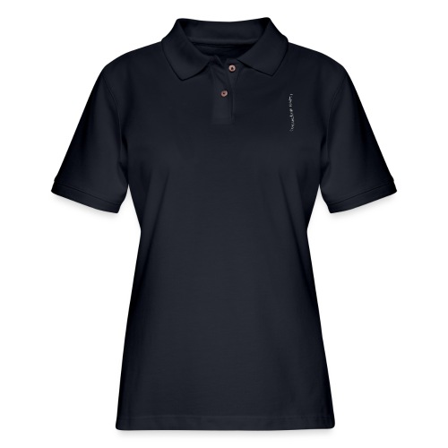 I love skydiving/T-shirt/BookSkydive - Women's Pique Polo Shirt