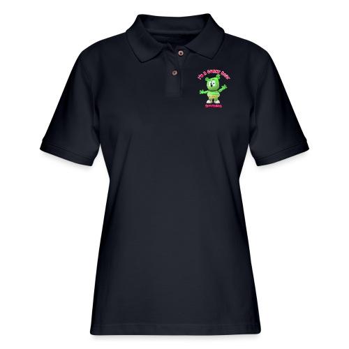 I'm A Gummy Bear - Women's Pique Polo Shirt