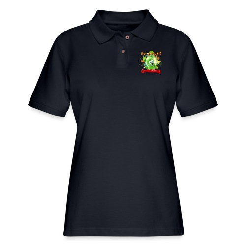 Gummibär Go Green Earth Day Trees - Women's Pique Polo Shirt