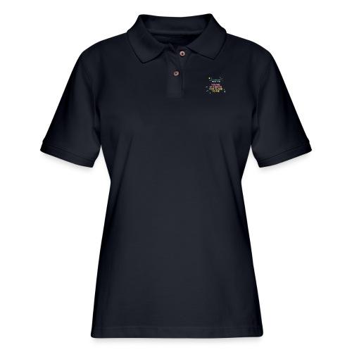 Fight Corona - Women's Pique Polo Shirt