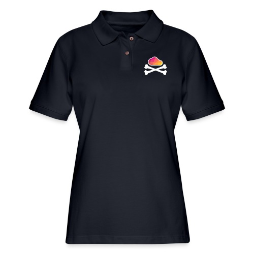 New Pirate Cloud in Color - Women's Pique Polo Shirt