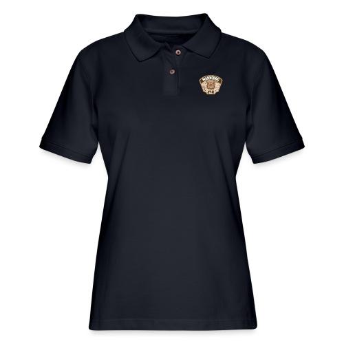 Desert Marne Dog (3rd ID) - Women's Pique Polo Shirt