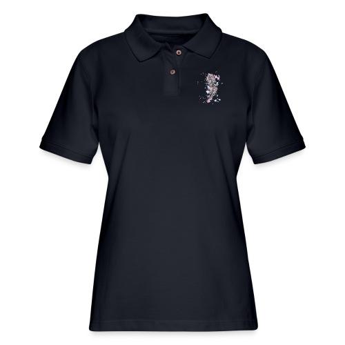 feather - Women's Pique Polo Shirt