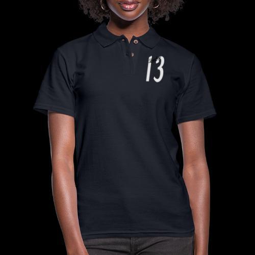 Lucky Thirteen - Women's Pique Polo Shirt