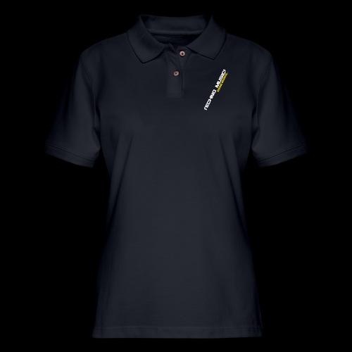Techno Music - Women's Pique Polo Shirt