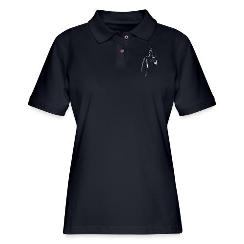Rubber Man Wants You! - Women's Pique Polo Shirt
