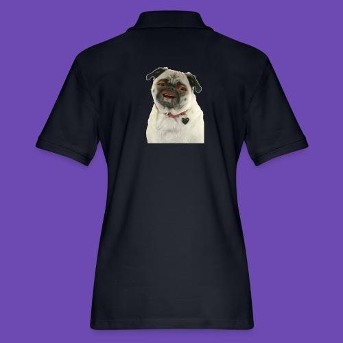 Good times goodbye good boy. - Women's Pique Polo Shirt