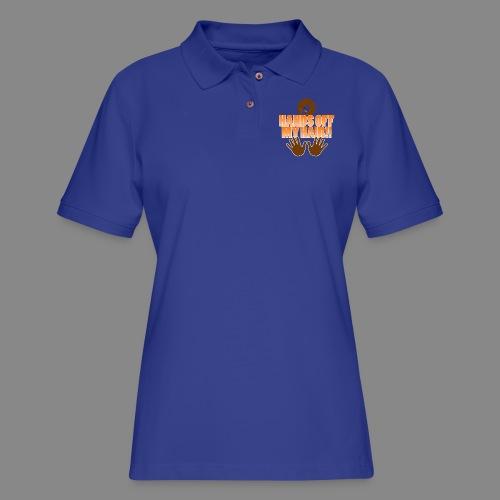 Hands Off! - Women's Pique Polo Shirt