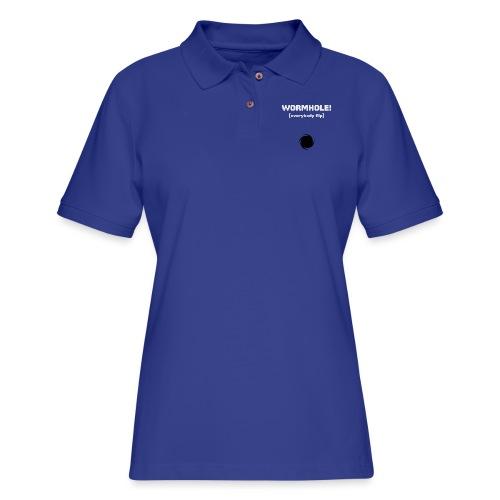 Spaceteam Wormhole! - Women's Pique Polo Shirt