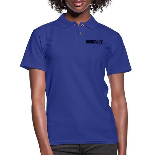OHWC4LIFE NO-BG - Women's Pique Polo Shirt