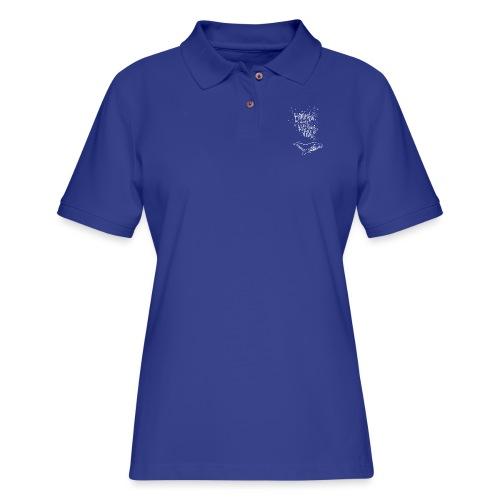 Bitumen Don't Kill My Vibe babywear! - Women's Pique Polo Shirt