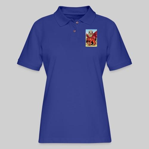 Manticore - Women's Pique Polo Shirt