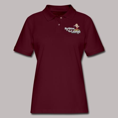 Big Hitter The Lama - Women's Pique Polo Shirt