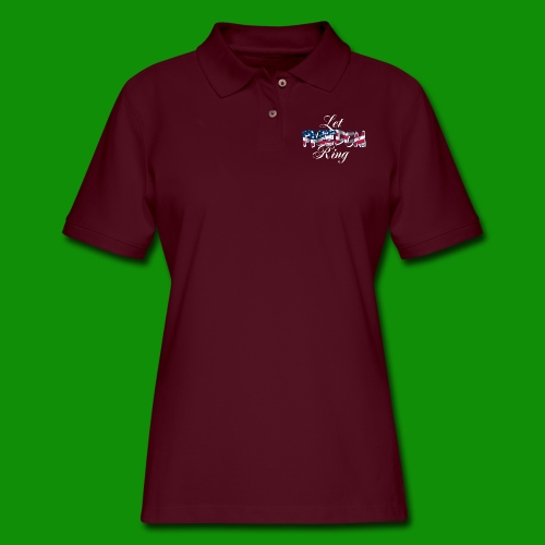 Let Freedom Ring - Women's Pique Polo Shirt