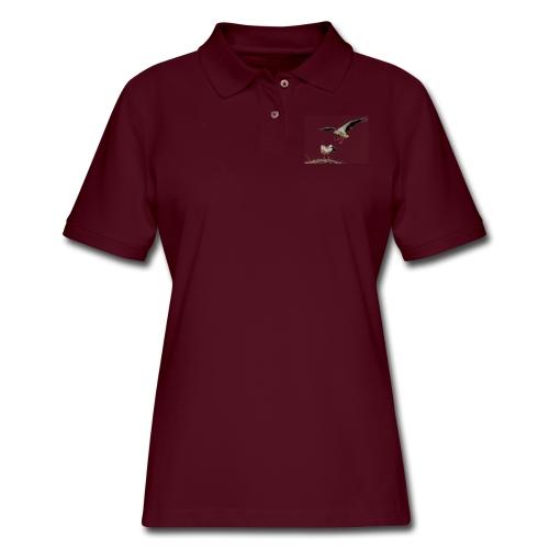 Stork - Women's Pique Polo Shirt