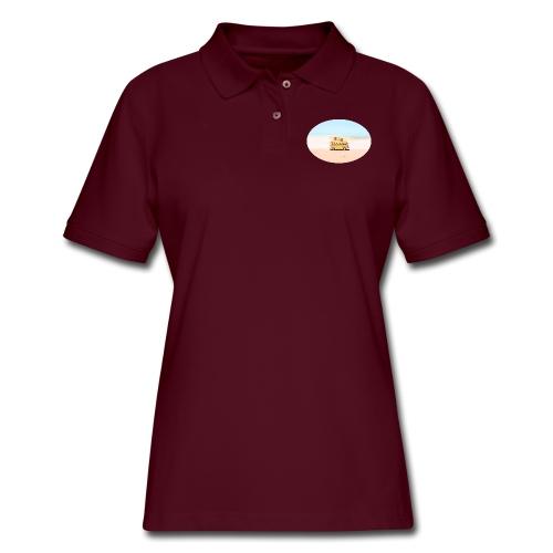 Noosa Car Beach - Women's Pique Polo Shirt