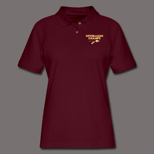 Offseason Champs - Women's Pique Polo Shirt