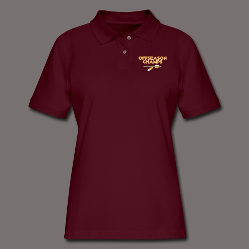 Offseason Champs - Women's Pique Polo Shirt