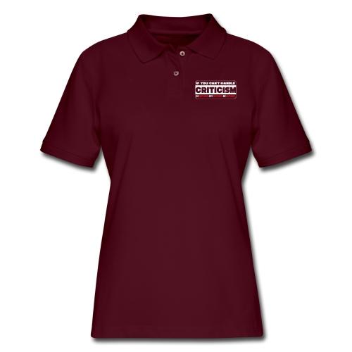 Criticism - Women's Pique Polo Shirt