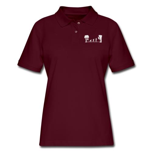 Apes Climb - Women's Pique Polo Shirt