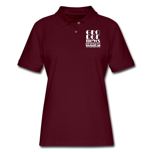WE ARE GEORGE - Women's Pique Polo Shirt