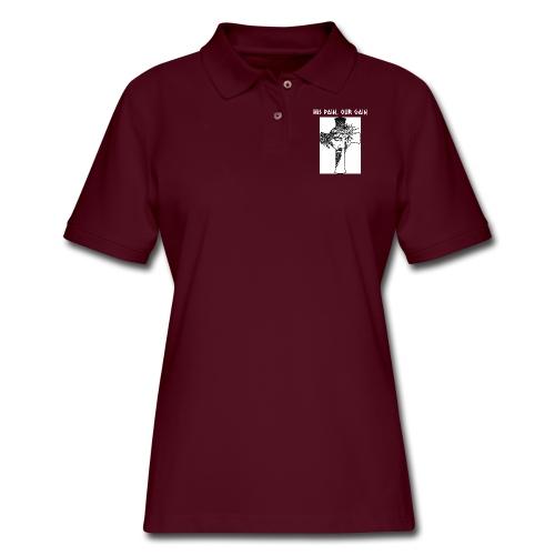 His Pain, Our Gain - Women's Pique Polo Shirt