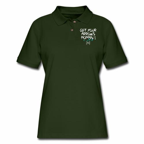 Get Your Arrows Poppin'! [fbt] 2 - Women's Pique Polo Shirt