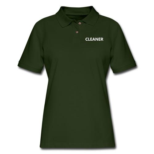 Cleaner - Women's Pique Polo Shirt