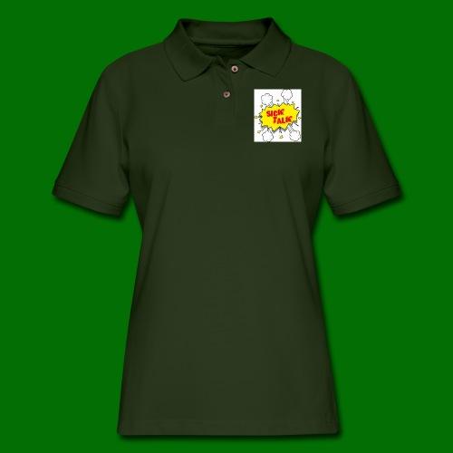 Sick Talk - Women's Pique Polo Shirt
