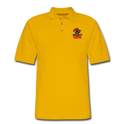 Reckless and Untouchable_1 - Men's Pique Polo Shirt