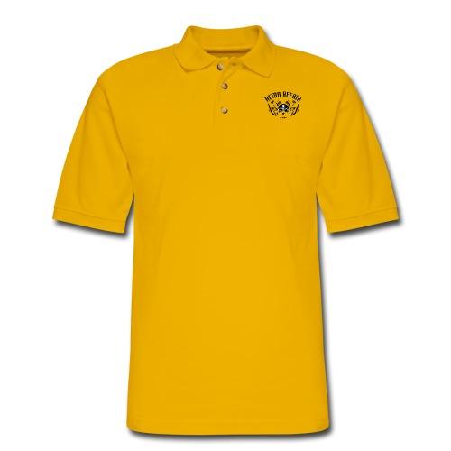 Retro Pipes - Men's Pique Polo Shirt