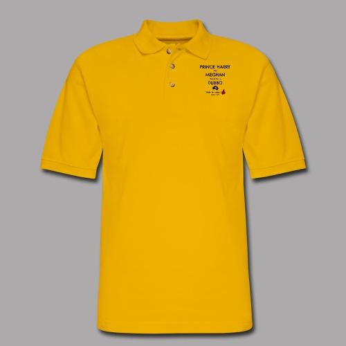 Prince Harry and Meghan Visit Dubbo - 17/10/2018 - Men's Pique Polo Shirt