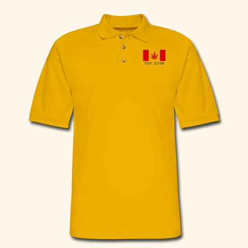 Legalization - Men's Pique Polo Shirt