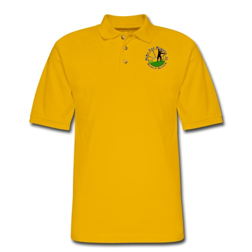 Hike For Happiness (Mental Health) - Men's Pique Polo Shirt