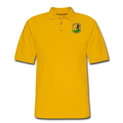 Take A Hike For Mental Health - Men's Pique Polo Shirt