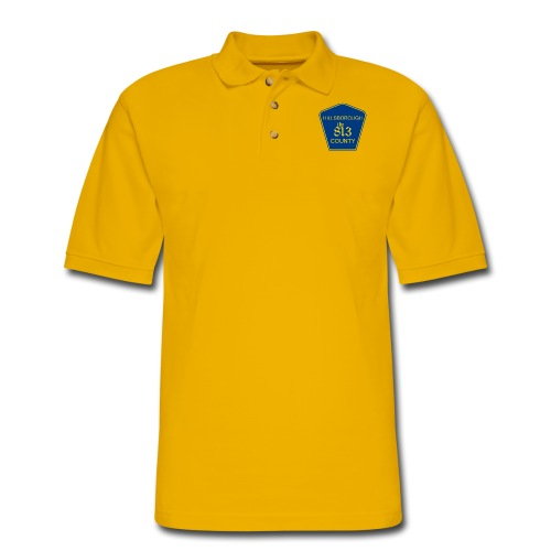Hillsborough the813 County - Men's Pique Polo Shirt